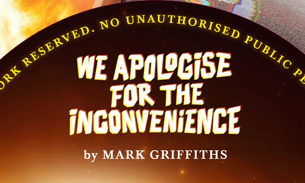 We Apologise Audio CD